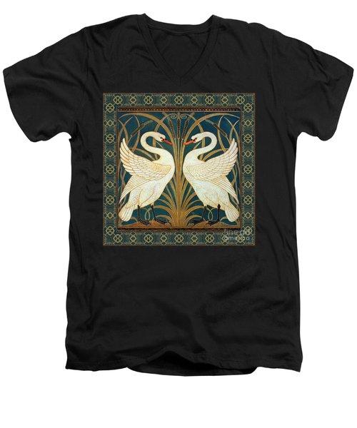 Two Swans Men's V-Neck T-Shirt