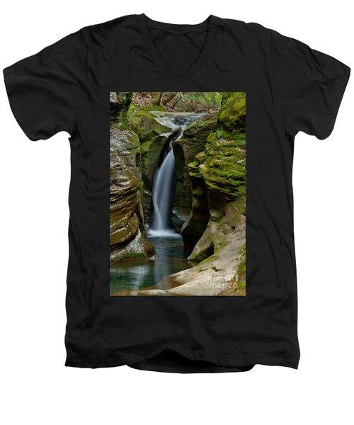 Un-named Falls Men's V-Neck T-Shirt
