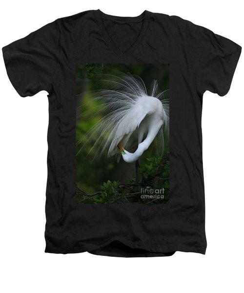 Under My Wing Men's V-Neck T-Shirt