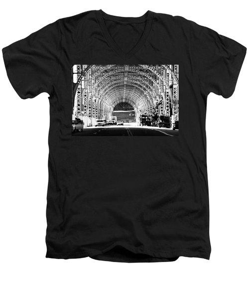 Under The West Side Highway Men's V-Neck T-Shirt