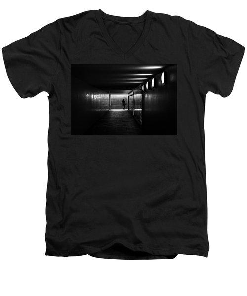 Underpass Berlin Men's V-Neck T-Shirt