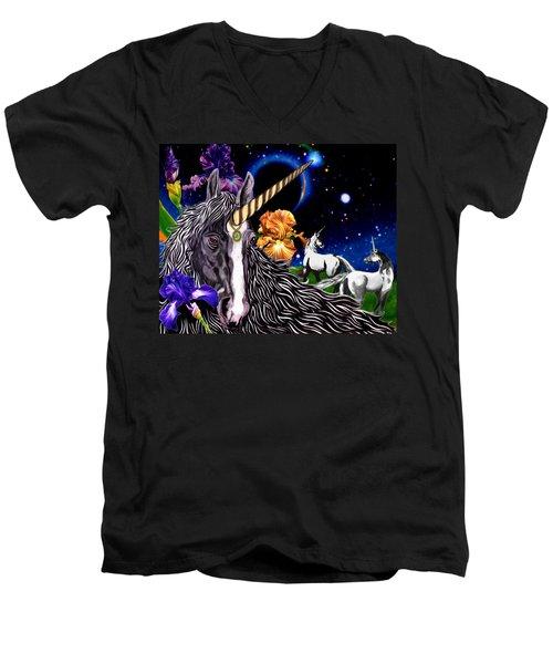 Unicorn Dream Men's V-Neck T-Shirt