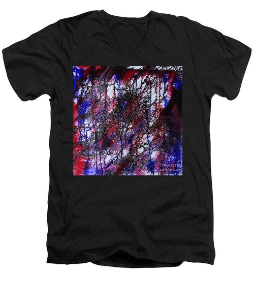 Autumn Of Duars Men's V-Neck T-Shirt