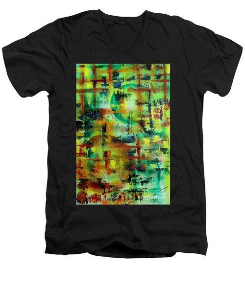Two Sphere Men's V-Neck T-Shirt