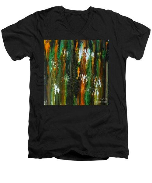 Spring Of Duars Men's V-Neck T-Shirt