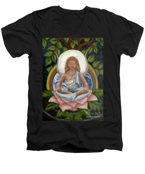Universal Goddess Men's V-Neck T-Shirt