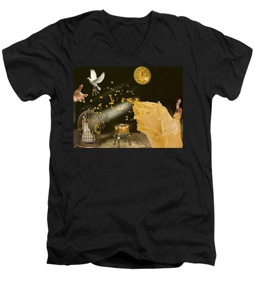Unlock Thy Inner Self Men's V-Neck T-Shirt