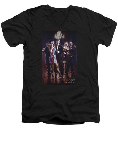 Unsere Leute Men's V-Neck T-Shirt