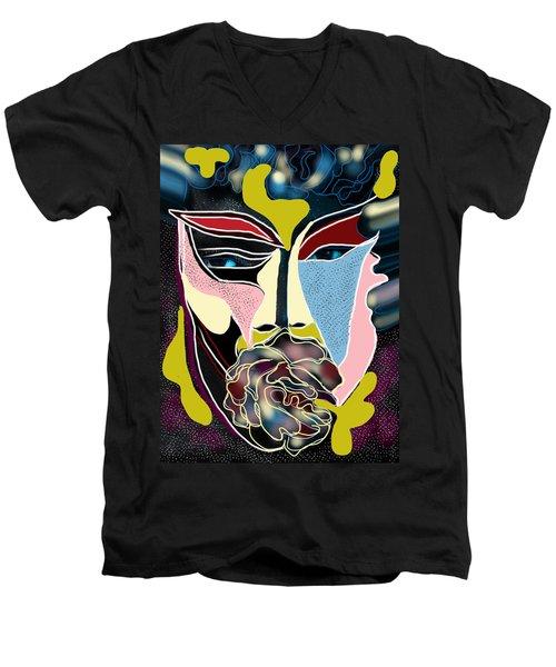 Untitled # 2 Men's V-Neck T-Shirt