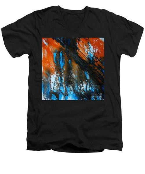 Melbandhan Men's V-Neck T-Shirt