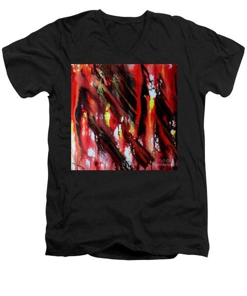 Dabanol-2 Men's V-Neck T-Shirt