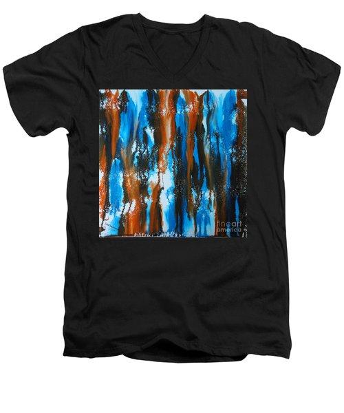 Winter Vs. Summer Men's V-Neck T-Shirt