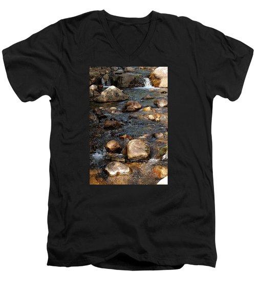 Up A Creek Men's V-Neck T-Shirt