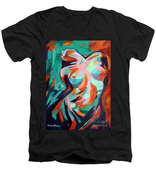 Uplift Men's V-Neck T-Shirt