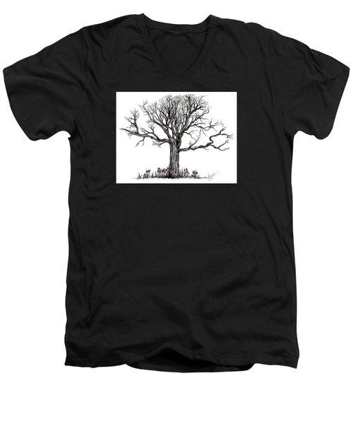 Uprooted Men's V-Neck T-Shirt