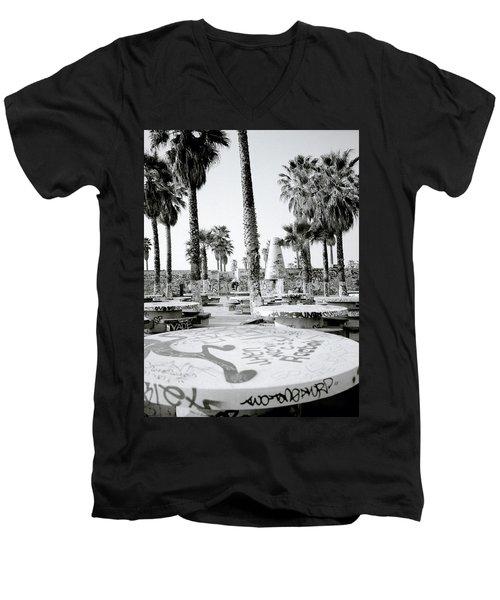 Urban Graffiti  Men's V-Neck T-Shirt