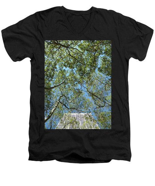 Urban Growth Men's V-Neck T-Shirt