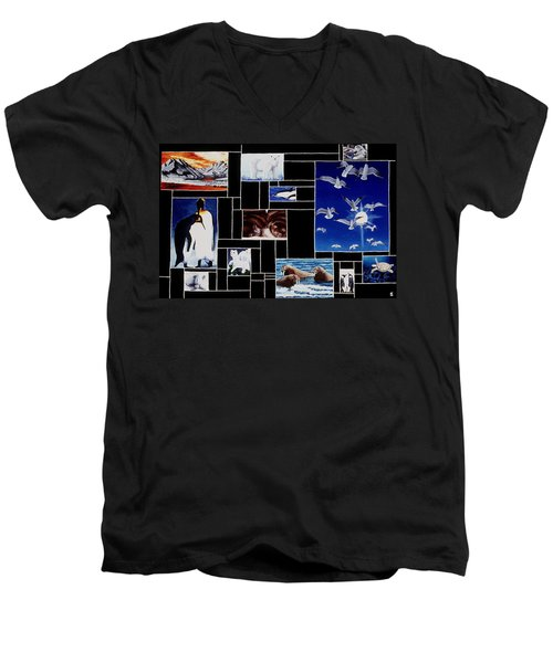 Valdez Spring Men's V-Neck T-Shirt