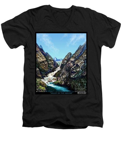 Valley Of The Absurd Men's V-Neck T-Shirt