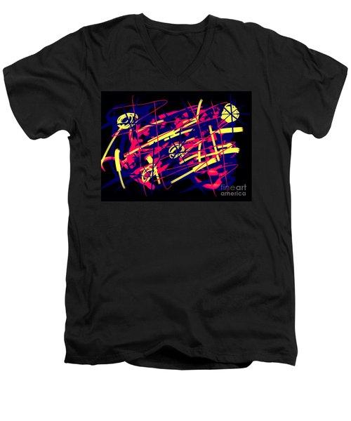 Vegas Delight Men's V-Neck T-Shirt