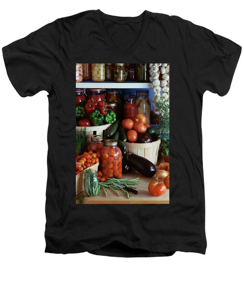 Vegetables For Pickling Men's V-Neck T-Shirt