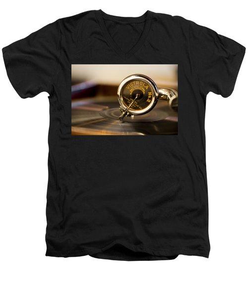 Victrola No 2 Men's V-Neck T-Shirt