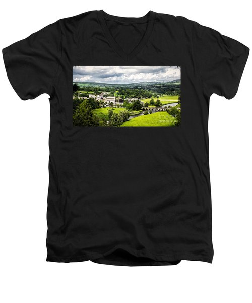 Village Of Inistioge Men's V-Neck T-Shirt
