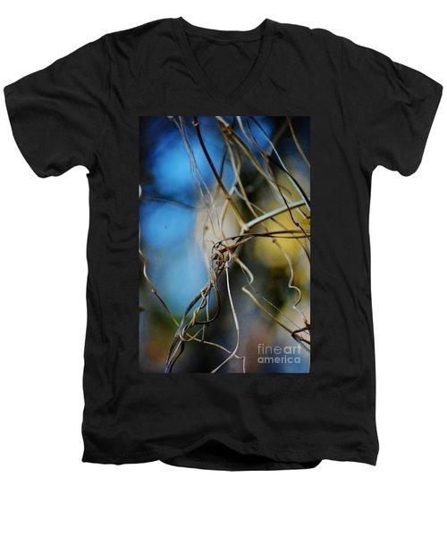 Vines In The Back Garden Men's V-Neck T-Shirt