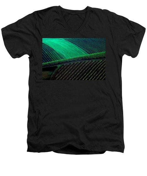 Vineyard 05 Men's V-Neck T-Shirt
