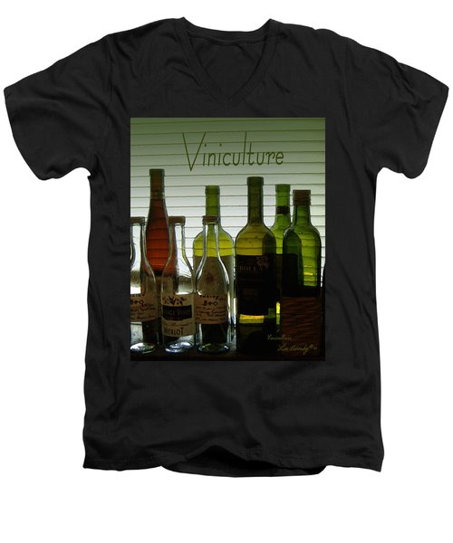 Viniculture  Men's V-Neck T-Shirt