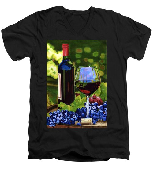 Vino Men's V-Neck T-Shirt