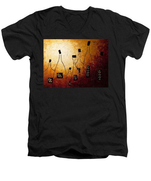 Vins De France Men's V-Neck T-Shirt