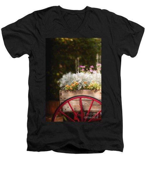 Vintage Beauties For Sale Men's V-Neck T-Shirt