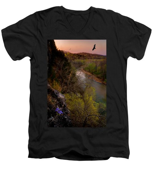 Violet And Vultures Men's V-Neck T-Shirt