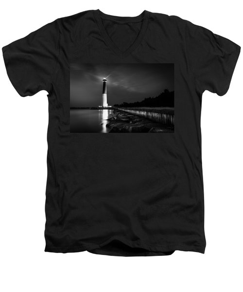 Men's V-Neck T-Shirt featuring the photograph Vision Is Seeing The Invisible by Mihai Andritoiu