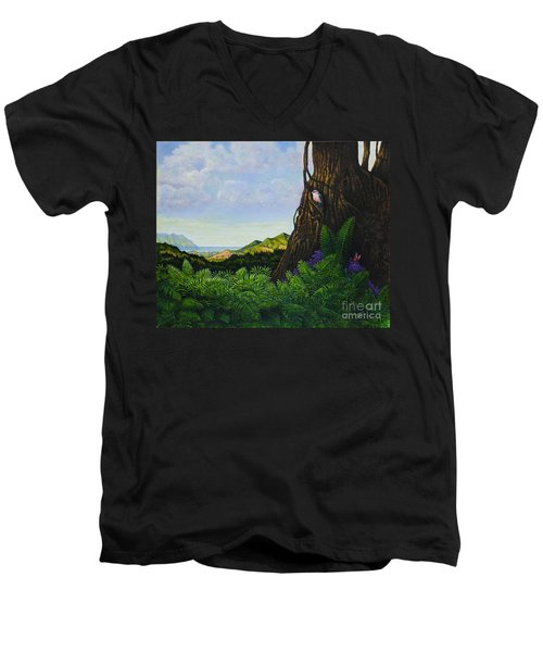 Visions Of Paradise V Men's V-Neck T-Shirt