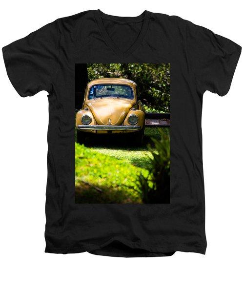 Volkswagen Beetle Men's V-Neck T-Shirt