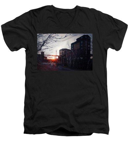 Waiting For Spring... Men's V-Neck T-Shirt