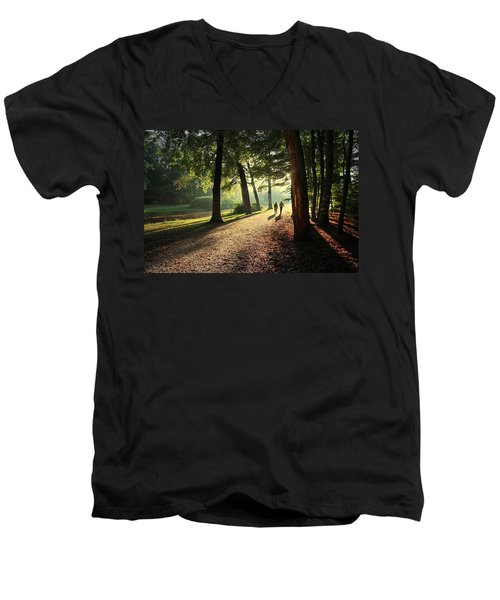Walk Men's V-Neck T-Shirt