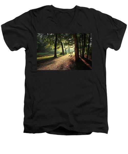 Walk Men's V-Neck T-Shirt