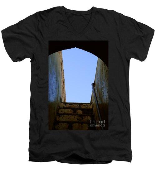 Walk To The Sky Men's V-Neck T-Shirt