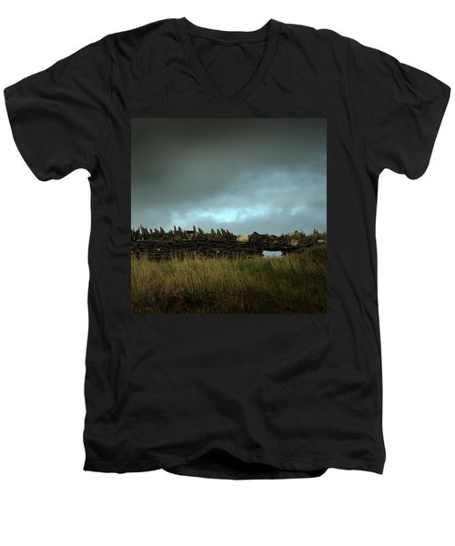 Wall  Men's V-Neck T-Shirt