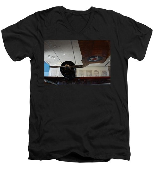 Wall Of Great Aviators Men's V-Neck T-Shirt