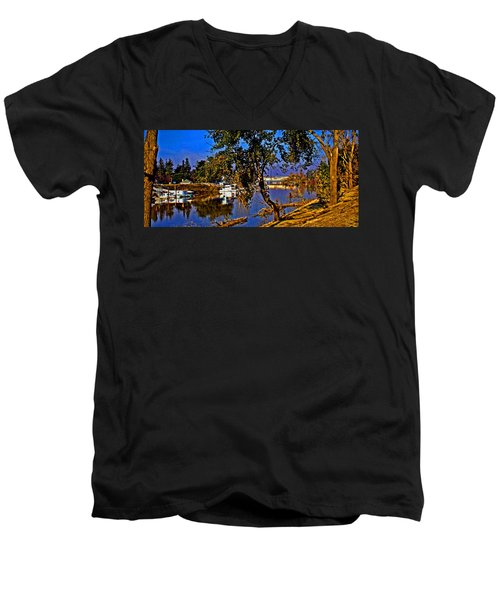 Walnut Grove Ca Men's V-Neck T-Shirt
