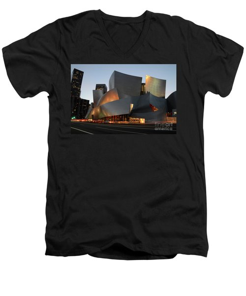 Walt Disney Concert Hall 21 Men's V-Neck T-Shirt