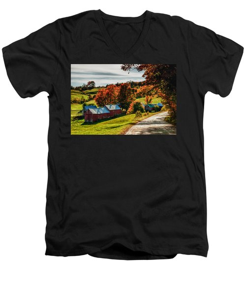 Wandering Down The Road Men's V-Neck T-Shirt