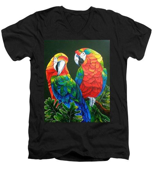 Wanna Know A Secret Men's V-Neck T-Shirt by Sherry Shipley