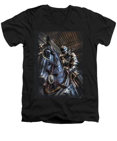 War Horse Men's V-Neck T-Shirt
