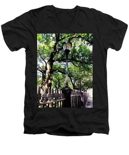 Washington Square Men's V-Neck T-Shirt