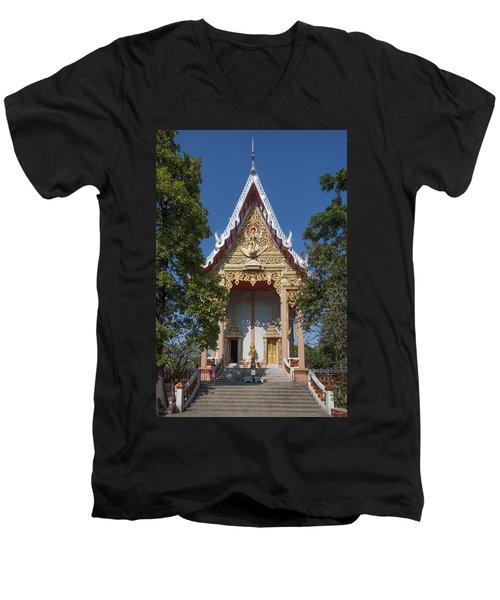 Wat Laksi Ubosot Dthb1426 Men's V-Neck T-Shirt